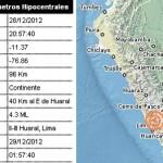 sismo- Huaral