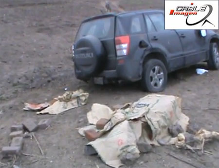 accidente en Cerro Azul