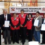 JEE de Huaura entrega credenciales a consejeros electos del gobierno regional de lima