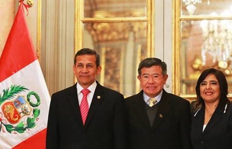 Presidentes regionales se reunieron con presidente Ollanta Humala y ministros de Estado- Canete en linea