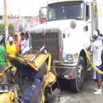 Ica accidente deja tres muertos y dos heridos en la Panamericana Sur Caneteenlinea.com