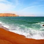 Paracas y su asombrosa playa roja. Sorprendente ...!! Caneteenlinea.com