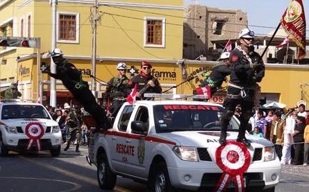 Celebran Fiestas Patrias en Ica Caneteenlinea.com