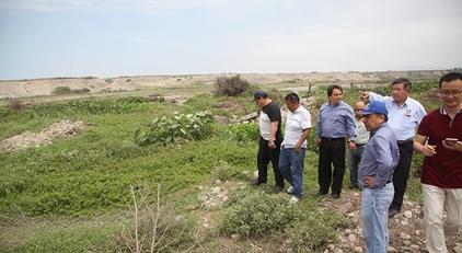 Empresa China construirá planta de tratamiento de aguas residuales