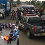 Choque en el km 146 de la panemericana sur deja un muerto