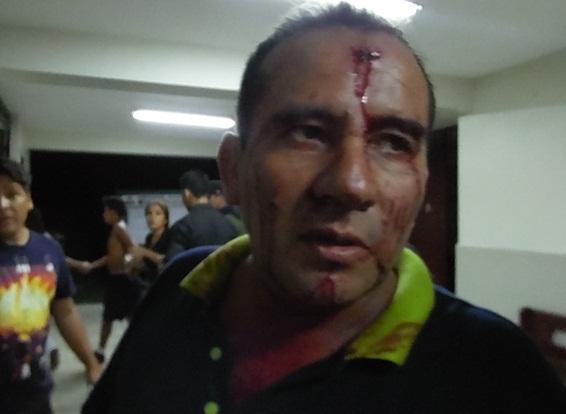San Luis Sereno herido por detener pelea entre adolescentes