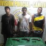 Capturan a presuntos autores de asalto a farmacia en Mala
