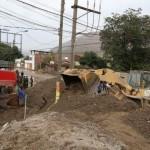 96 viviendas fueron afectadas por huaicos en Santa Eulalia y Ricardo Palma
