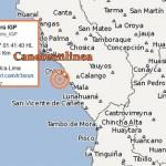 Leve sismo tuvo como epicentro Chilca esta madrugada