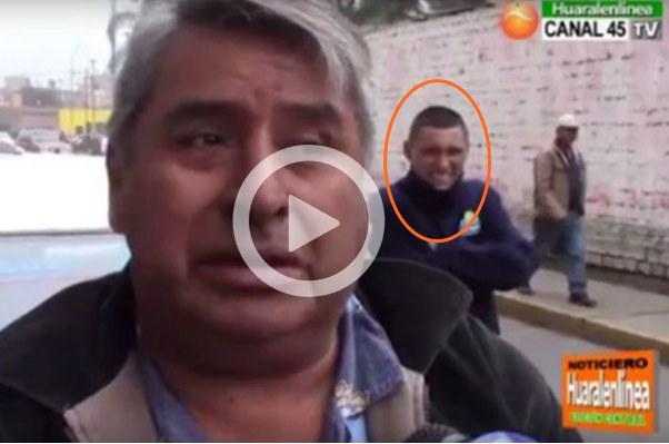 Huaral Robo un celular y dinero de su auto cuando era entrevistado
