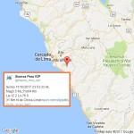Sismo de 3.5 se registra al norte de Chilca