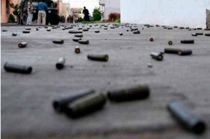 San Vicente balacera al costado del coliseo Lolo Fernandez herido es llevado al hospital Rezola.